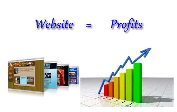website profits